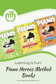 If you aim to find a method book series that your young beginners absolutely enjoy and that provides the age-appropriate material they need to learn the piano, this series is it! Teaching Aids, Piano Teaching, Heroes Book, Kids Piano, Curious Kids, Piano Player, Music Education, Super Powers, Book Series