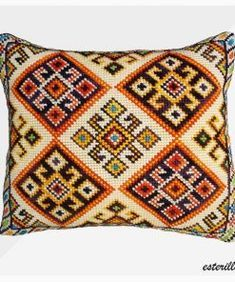 Small Front Yard Landscaping, Chile, Lana, Decoration, Tapestry, Joy, Throw Pillows, Cross Stitch, Embroidered Cushions
