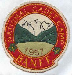 Banff Souvenirs, camp patch