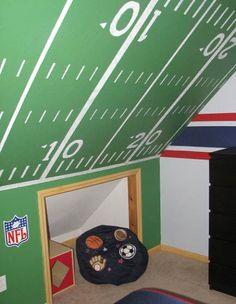 Coolest #patriots room ever