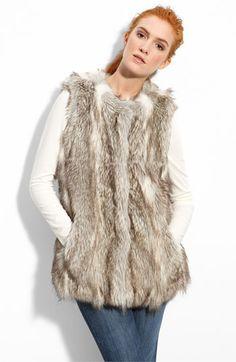 5bddb451fa Du Monde Faux Fur Vest