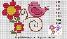 "Λεπτό Corner: Charts Cross Stitch ""Birds"""