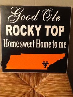 Good ole Rocky top Home Sweet home to me by HomeDco on Etsy