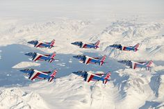 Flying Together, Air Show, Mount Everest, Aircraft, Nature, Jets, Travel, Tour, Planes
