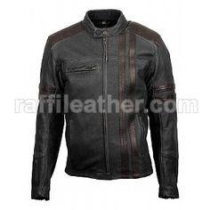 Jaket Kulit Bikers/Motor » Jaket Kulit Bikers 013 • www.raffileather.com Jual Jaket Kulit Asli Garut Murah & Berkualitas