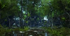 Foxhead - UE4 - forest environment 'Green Arc' WIP