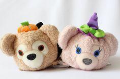 Duffy and ShellieMay Halloween Tsum Tsum - Hong Kong Disneyland Exclusive