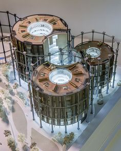 Gasholder conversions: a glimpse inside the show flat for the King's Cross triplets