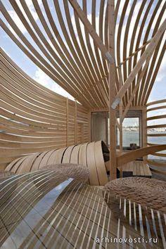 Пьета-Линда Оттила (Pieta-Linda Auttila),  дизайнерский отель (WISA Wooden Design Hotel), Хельсинки, Финляндия.