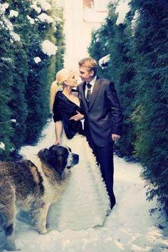 Winter weddings | weddings in snow | www.weddingsite.co.uk