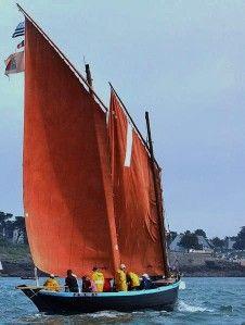 Sinago : principal type de chaloupe de pêche  du golfe du Morbihan