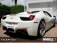 The Official Forgiato Wheels Blog » Ferrari 458 Convertible w/ Dieci-ECL Forgiato Wheels!
