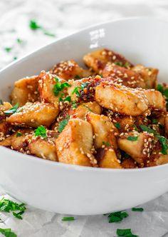 Sesame Garlic Chicken Recipe