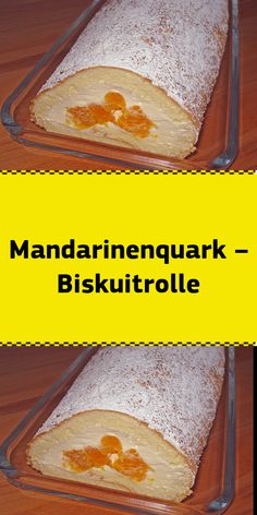 Mandarinenquark – Biskuitrolle Ingredients 150 g sugar 150 g flour 4 egg (s) teaspoon baking powder 4 tbsp water 1 pinch (s) salt 2 [. Easy Cake Recipes, Dessert Recipes, Easy Detox, No Bake Desserts, Clean Eating Recipes, Fashion Week, Easy Meals, Food And Drink, Brunch