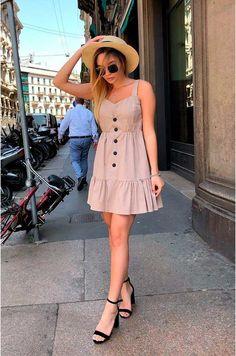Cute Sundresses, Cute Summer Dresses, Sundresses Women, Outfit Summer, Cute Summer Clothes, Cute Casual Dresses, Casual Summer, Short Outfits, Short Dresses