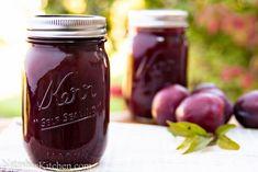plum jam-3 Plum Jam Recipes, Jelly Recipes, Fruit Recipes, Low Sugar Plum Jam Recipe, Plum Preserves, Plum Jam With Pectin, Jam And Jelly, Plum Jelly, Canning Recipes