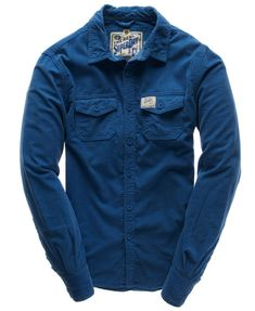 Superdry Paperweight Wale Shirt