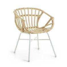 Καρέκλες   Kave Home Rattan, Public Seating, Office Seating, Scatter Cushions, Toss Pillows, Cocktail Chair, Design Tisch, Outdoor Wicker Furniture, Velvet Armchair