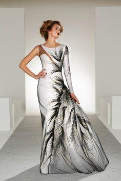 noir blanc  ♒  maison martin margiela haute couture printemps été 20I3 robe dress black and white spring summer high fashion