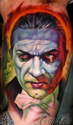 Evan Olin - Basil Gogos #Dracula #Tattoo #Classic #Horror