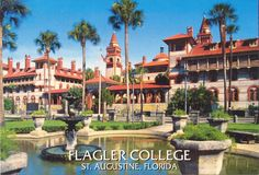 st augustine fl | She said one of her favorite spots was the stop at Flagler College ...
