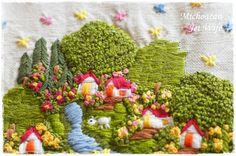 ミチョアカン刺繍の画像:ジェット妻ストリーム2