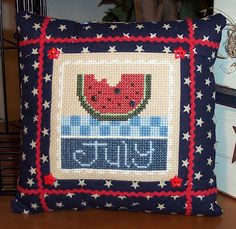 sewingly along...: Happy 4th of July!