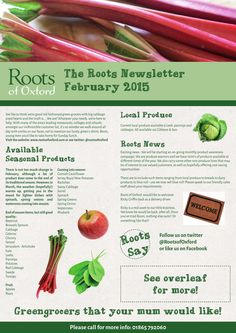 Roots Newsletter February 2015