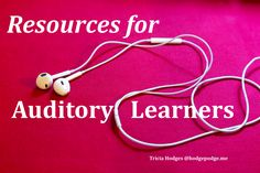 Do you have learners that love audio books? Have you noticed that your child learns best by listening? Here are our favorite resources for auditory learners