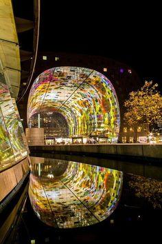 Market Hall, Rotterdam, Netherlands, Foto: Tom Schoumakers
