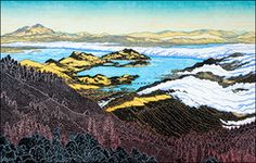 West Point, Mt. Tamalpais by Tom Killion; maybe from the Westpoint Inn, my favorite place in the Bay Area, full of wonderful people and views.