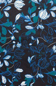 Main Image - Halogen® Dot Line Floral Silk Scarf Textile Pattern Design, Surface Pattern Design, Textile Patterns, Textile Prints, Print Patterns, Floral Prints, Flowery Wallpaper, Wallpaper Backgrounds, Phone Backgrounds