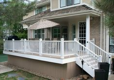 Deck Skirting Ideas - out before & after pics of Joni's deck for terrific deck & porch skirting suggestions. GenStone has a range of fake stone deck skirting material to choose from.