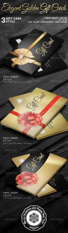 Elegant Golden Gift Cards 3 Different Golden Style Gift Cards with bleeds + trim mark) 300 DPI CMYK Print Ready PSD Files Vector Shapes Easy to Edit gift card gift card card diy card giveaway card luxury card play store card voucher gift card Paypal Gift Card, Visa Gift Card, Gift Card Giveaway, Free Gift Cards, Free Gift Card Generator, Amazon Gifts, Amazon Card, Credit Card Hacks, Print Templates