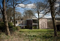 Farnley Hey house designed by Architect Peter Womersley in 1954