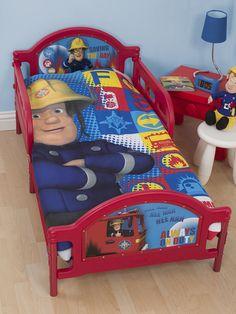 Fireman Sam Duty Toddler Bed. Matching items at Play Rooms