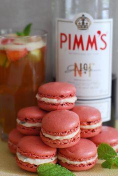 Pimms macarons