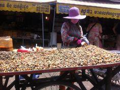 Food Market : Siem Reap