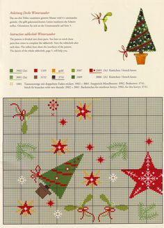 Cross Stitch Borders, Cross Stitch Charts, Cross Stitching, Cross Stitch Embroidery, Cross Stitch Patterns, Christmas Sewing, Christmas Embroidery, Noel Christmas, Winter Christmas