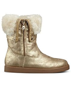 G by GUESS Women's Shoes, Amaze Faux-Fur Cold Weather Boots - Boots - Shoes - Macy's