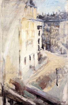 """bofransson: """" A Corner of the Place Vintimille, View from the Artist's Window Edouard Vuillard - circa 1905 """""""