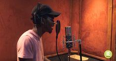 Tshepo Motlolometsi AKA Stige Lebaka working on the first song of his new album. Song One, Latest Music, Hiphop, Album, Technology, Songs, Game, Studio, Tech