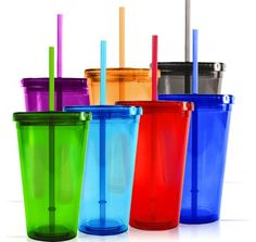Insulated Tumblers with Lids, Double Wall Acrylic Tumblers, Acrylic Tumblers- olympic party favor
