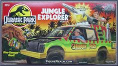 "Check out the deal on ""OUT OF STOCK""Jurassic Park - Jungle Explorer Vehicle at Action Toys and Collectables Jurassic Movies, Jurassic Park Toys, Jurassic Park Series, Jurassic Park 1993, Childhood Toys, Childhood Memories, Jurrassic Park, Retro Toys, Vintage Toys"