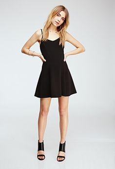 Ribbed Fit & Flare Dress | Forever 21 - 2000118192