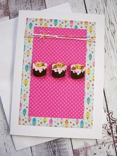 Birthday card for her Happy Birthday Wish Sister by littledebskis ~ SOLD!!!