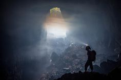 Into the mystic by john spies on 500px Hang Son Doong, Vietnam, the world's biggest cave. The view on the way to Camp One.