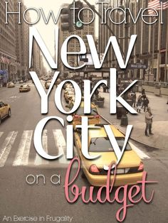 How to Travel NYC on a budget. These tips will save you TONS of money on your trip to the Big Apple. Sure New York is one of the most expensive cities in America, but you can still see the city for cheap! Budget travel at it's finest!
