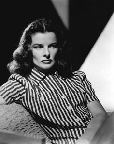 One of my favourite Old Hollywood actresses - Katharine Hepburn