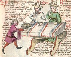 Speculum humanae salvationis. Memento mori-Texte [u.a.] Bayern - Österreich, I: zwischen ca. 1440 - 1466, II: um Mitte 15. Jh., III: 2. Viertel 15. Jh. Cgm 3974  Folio 184